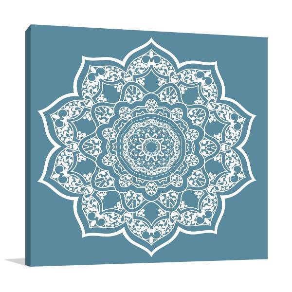 Persian Mandala Canvas Art Prints