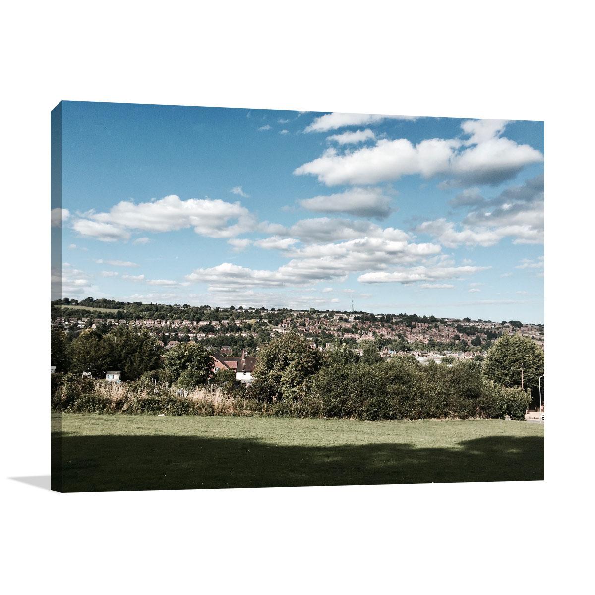Perth Art Print High Wycombe View