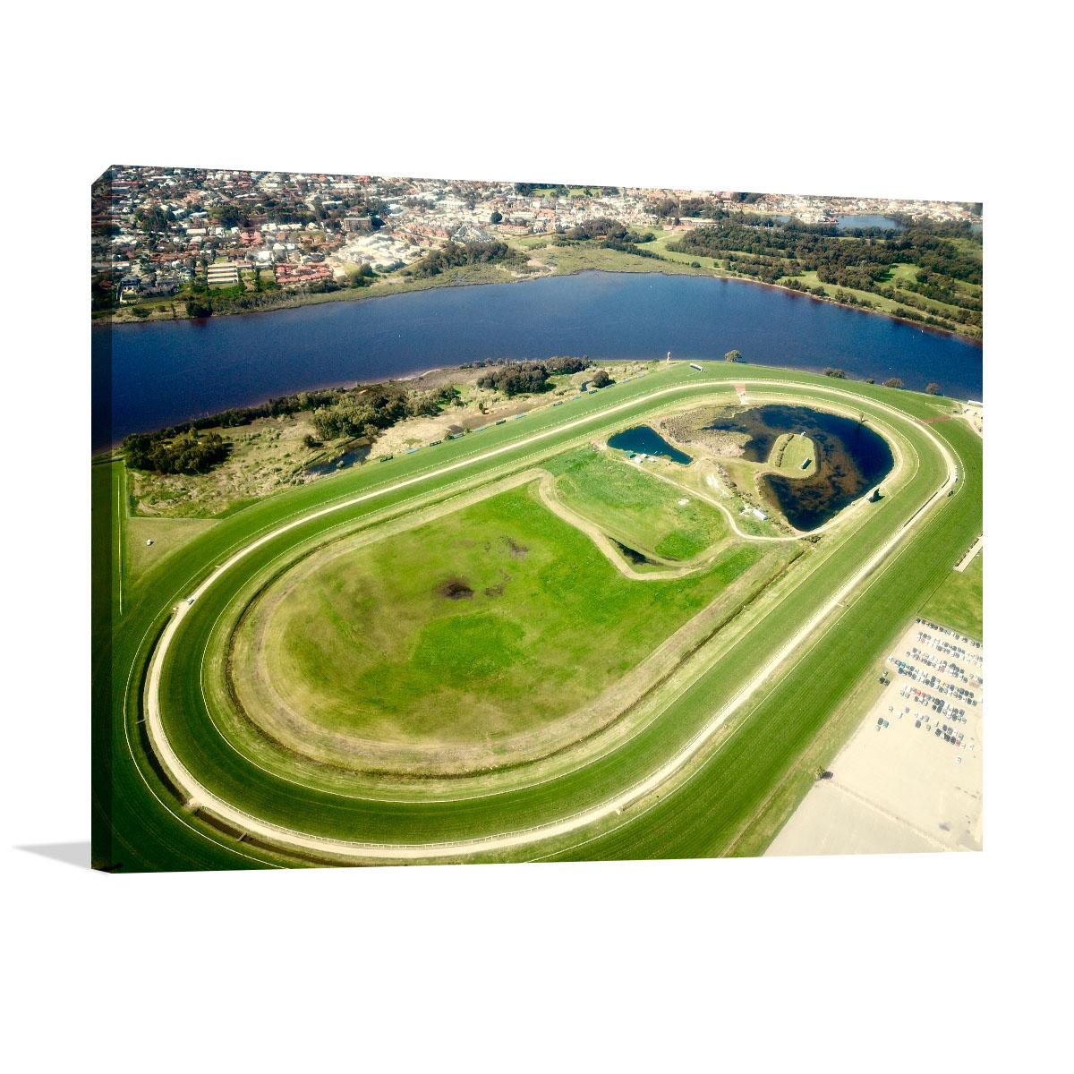 Perth Art Print Belmont Horse Racecourse