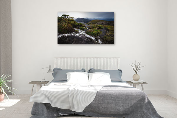 Perth Art Print Bluff Knoll Snow Print Art Canvas