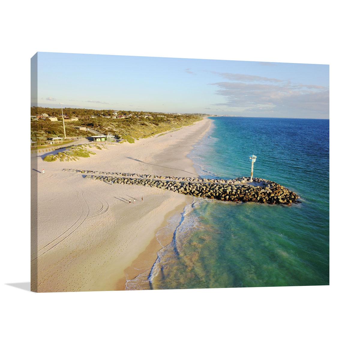 Perth Art Print City Beach