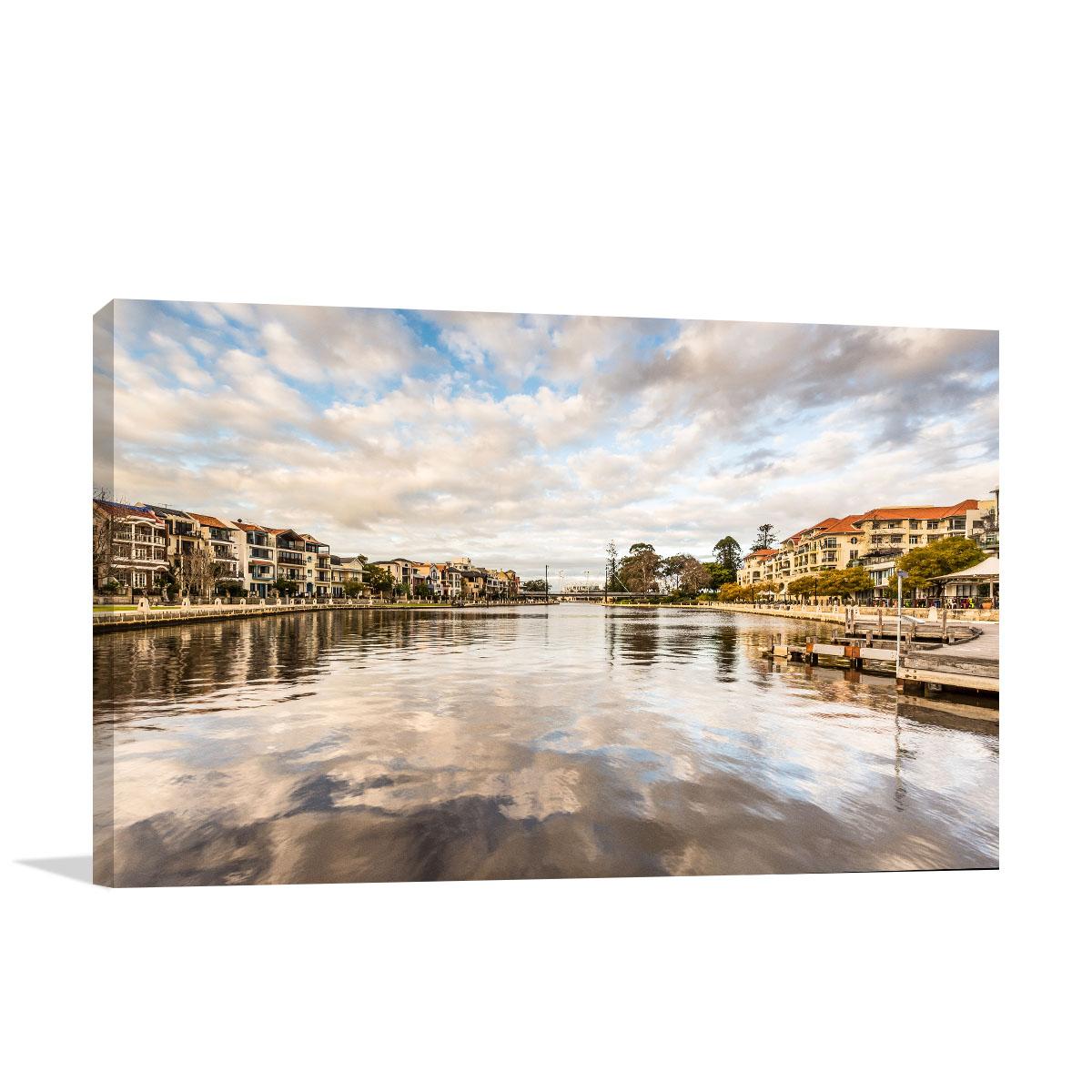 Perth Art Print Claisebrook Cove