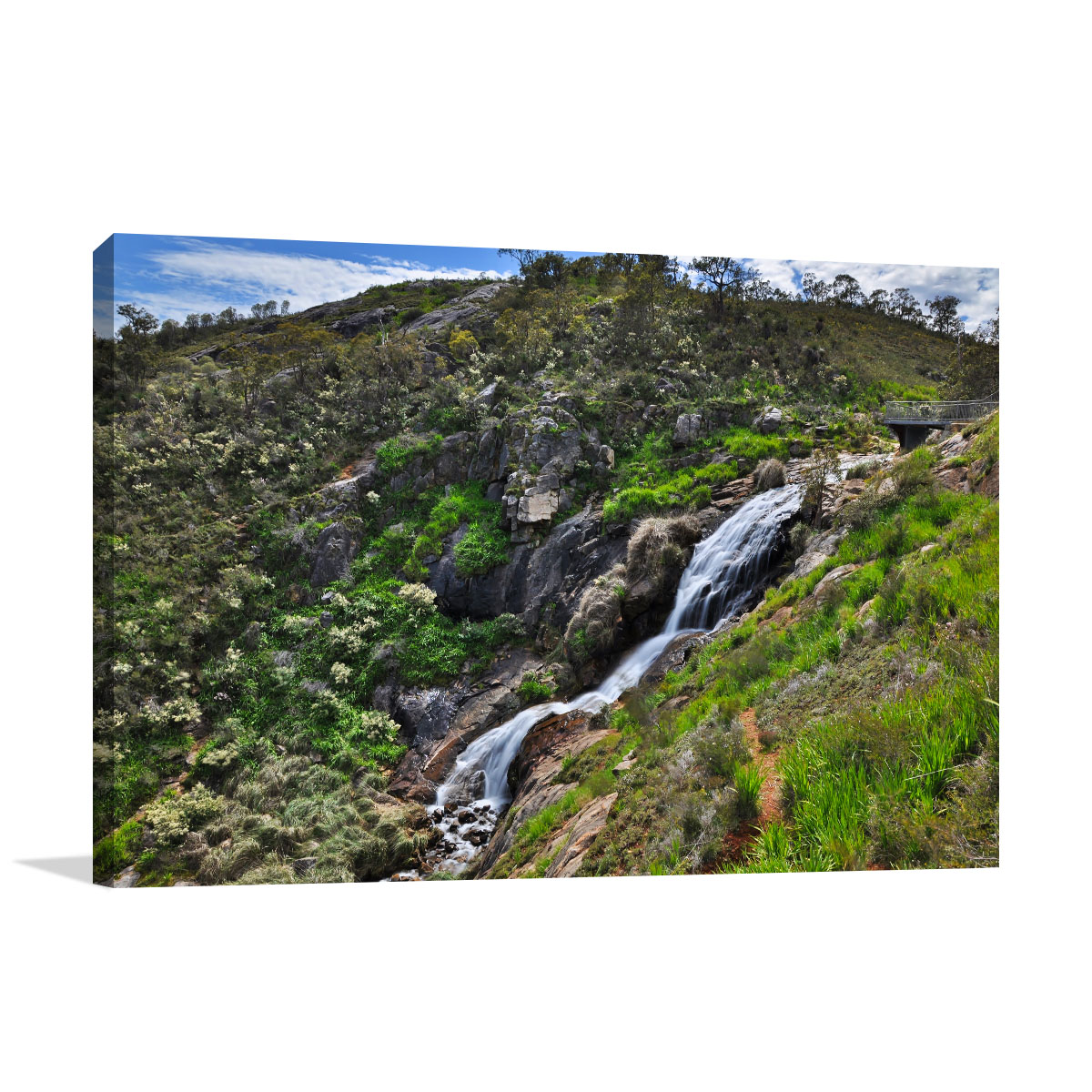 Perth Art Print Lesmurdie Waterfall