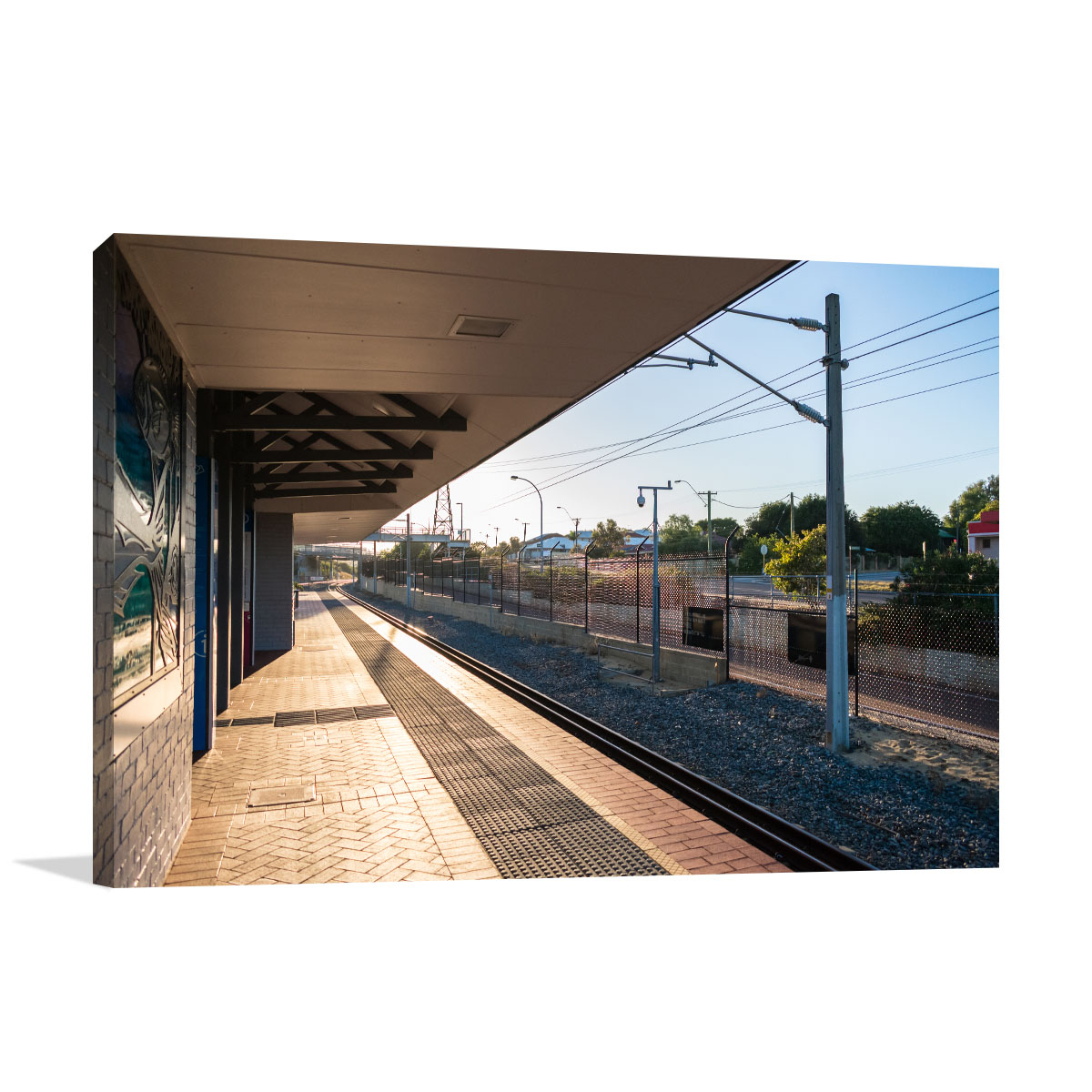 Perth Art Print Maylands Railway Station