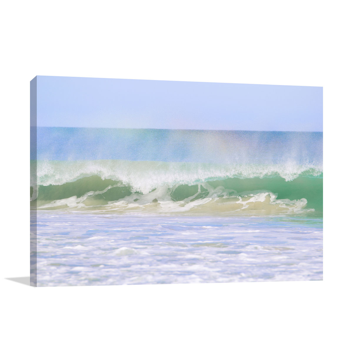 Perth Art Print Rainbow Wave