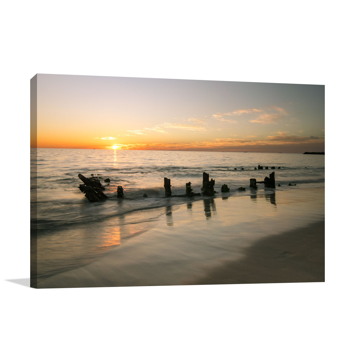 Perth Art Print Scenic View of Sunset