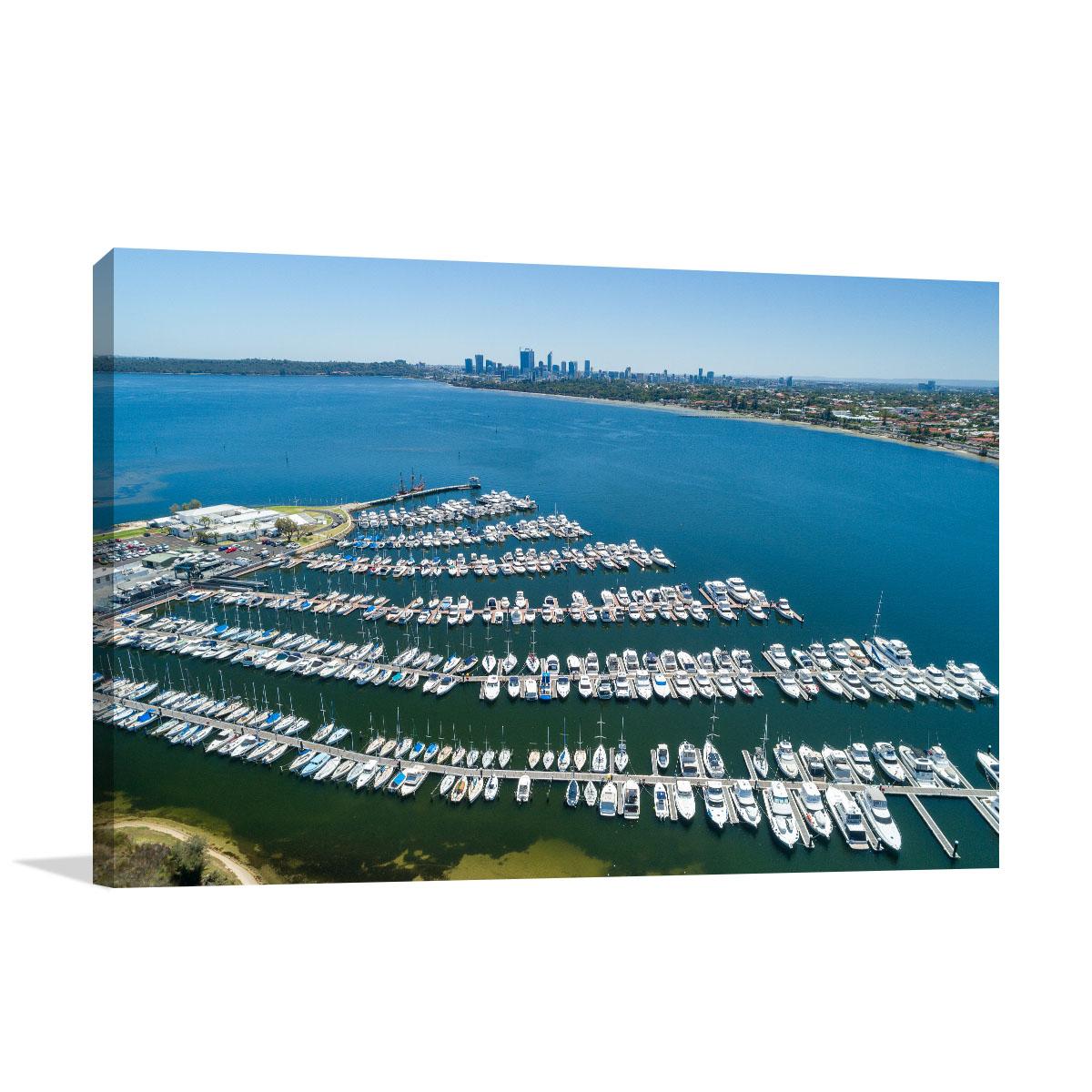 Perth City Art Print Applecross Waters
