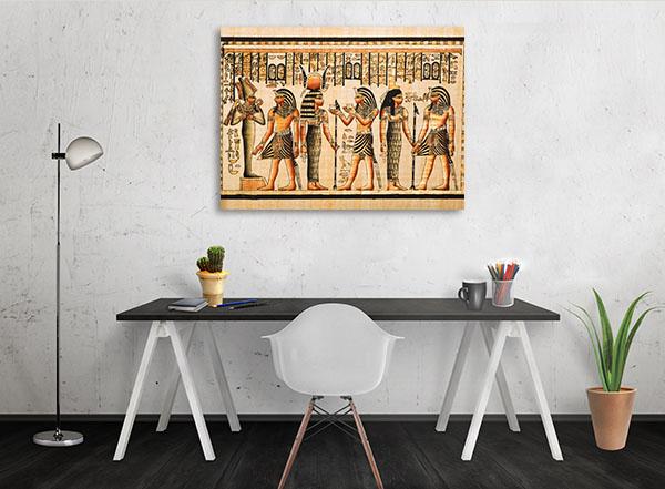 Pharaoh Tutankhamen Prints Canvas