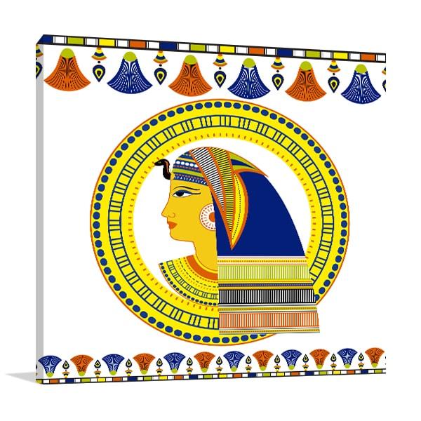 Pharaoh Head Art Prints