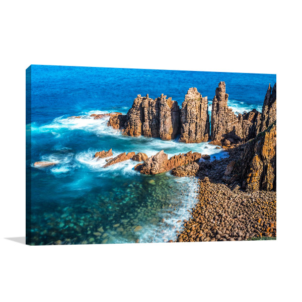 Phillip Island Canvas Print Pinnacles Art Photo