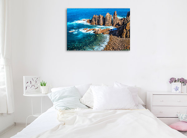 Phillip Island Canvas Print Pinnacles Wall Picture