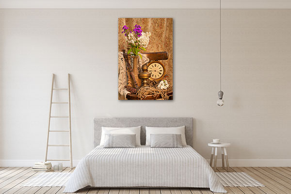 Phlox Bouquet Canvas Art
