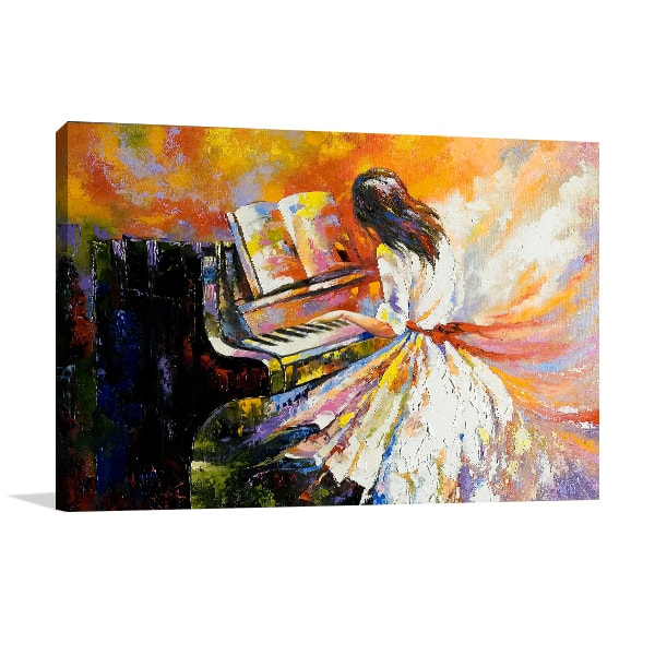 Pianist Prints Canvas