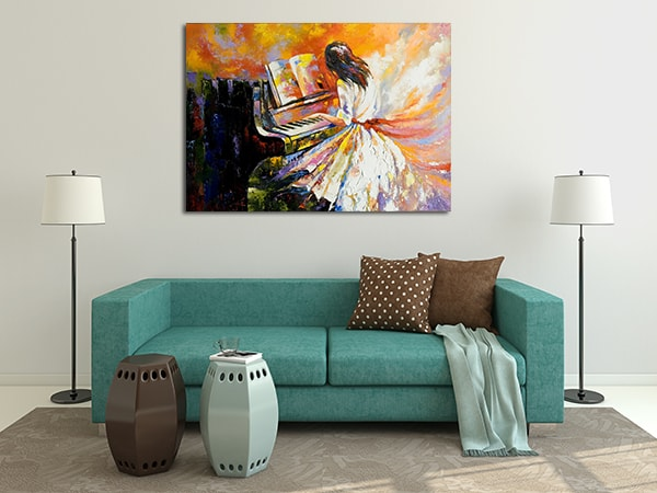 Pianist Canvas Prints