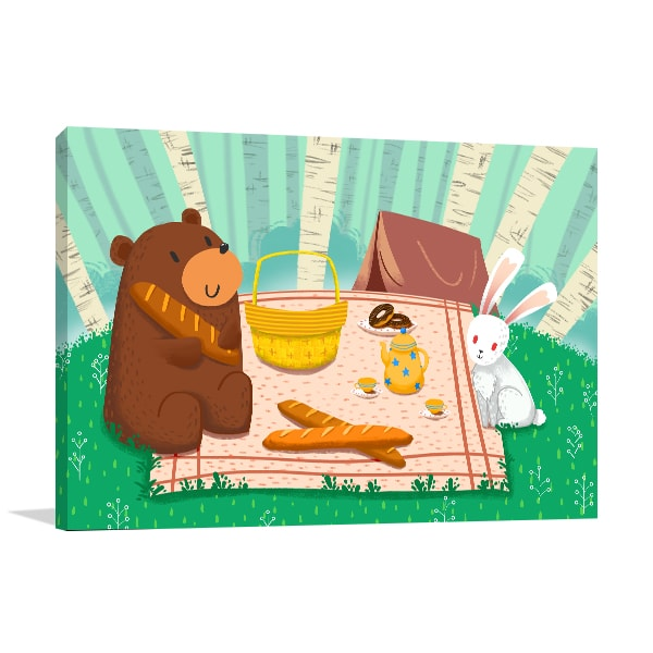 Picnic Time Art Prints