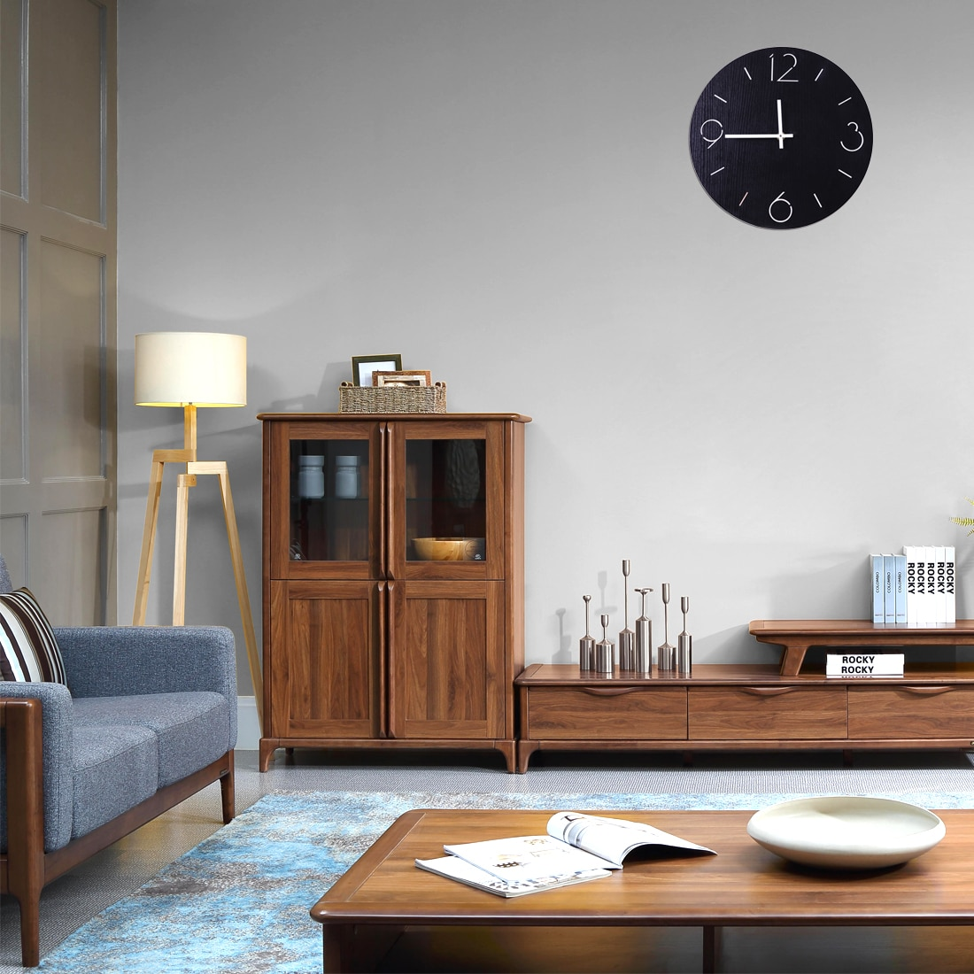 Modern Scandi Wall Clock Melbourne