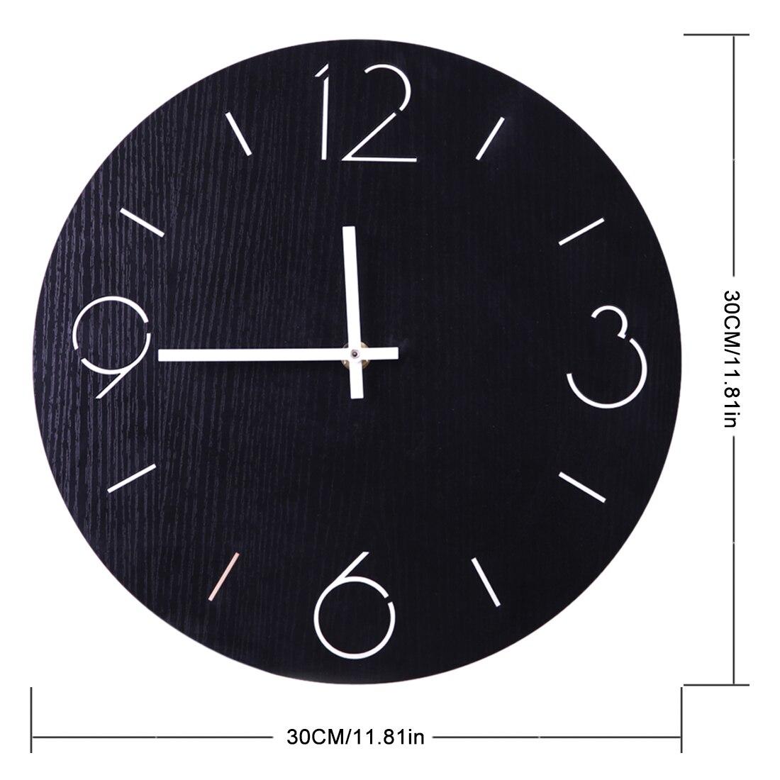 Pierced Silent Scandi Wall Clock Melbourne