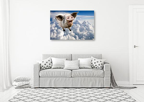 Pig in the Sky Print Artwork