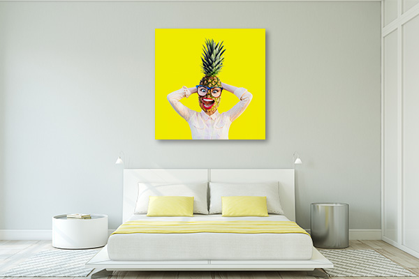 Pineapple Head Artwork