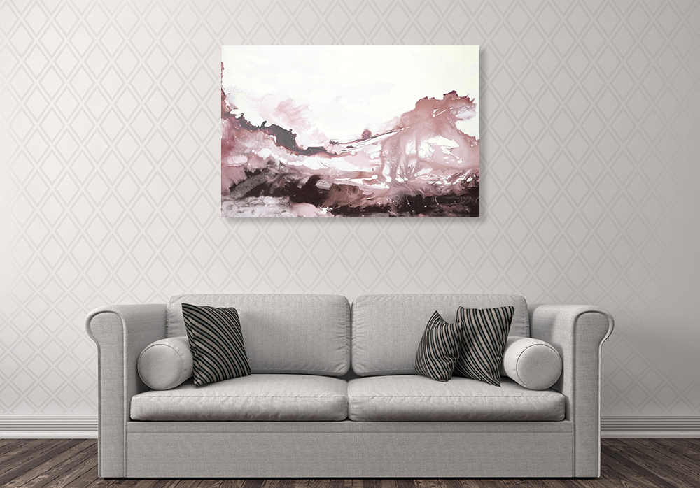 Living Room Abstract Wall Art Print