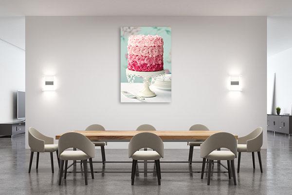 Pink Cake Art Prints
