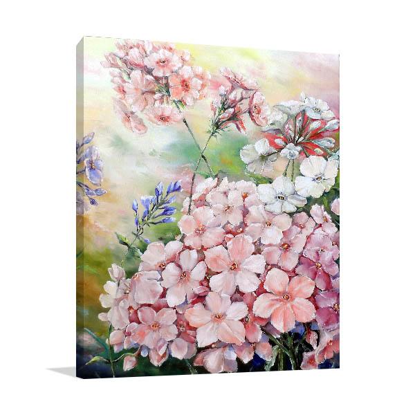 Pink Flower Bouquet Art Prints