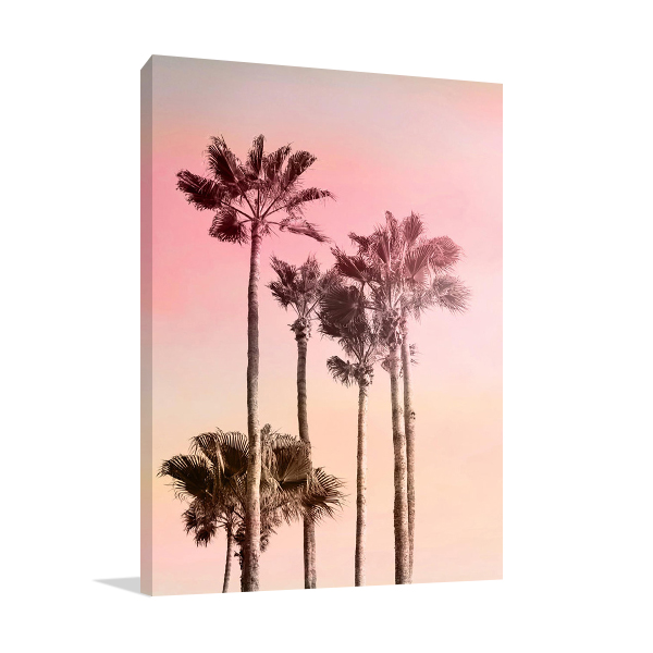 Pink Sunset I Wall Art Print