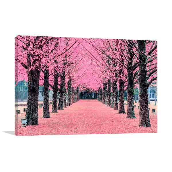 Pink Trees Artwork