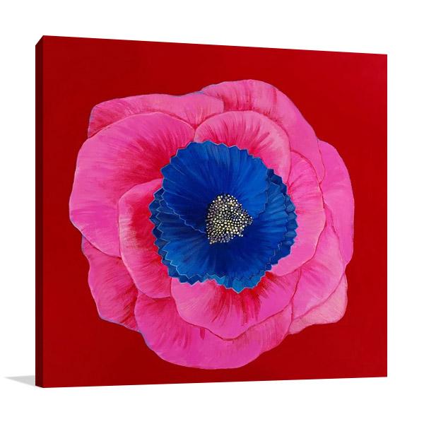 Pink Wall Art Print   Susan Jeschke