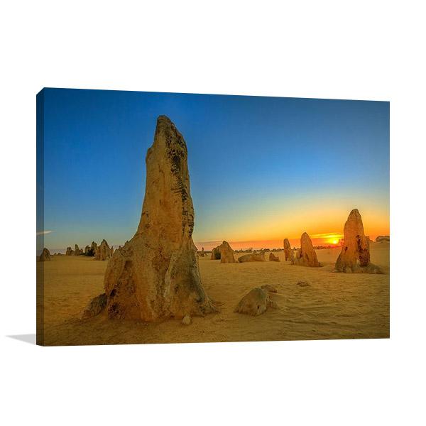 Pinnacles Desert Australia Wall Print