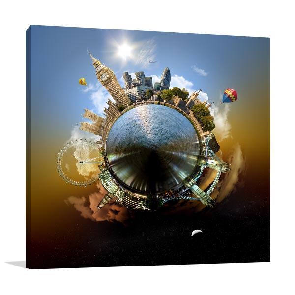Planet London Print Artwork