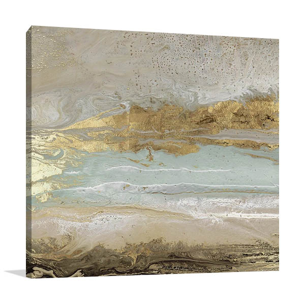 Playa Secreto I Canvas Print