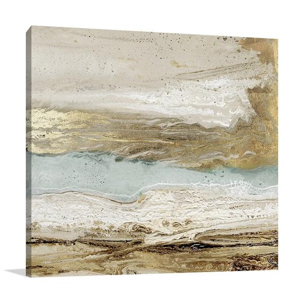 Playa Secreto Print on Canvas
