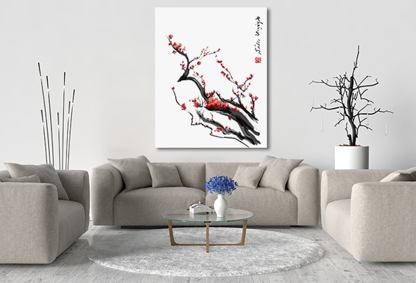 Plum Blossom Art Prints
