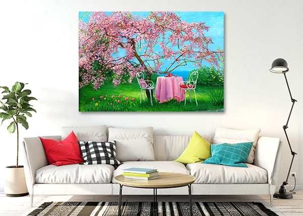 Plum Garden Art Prints on the Wall