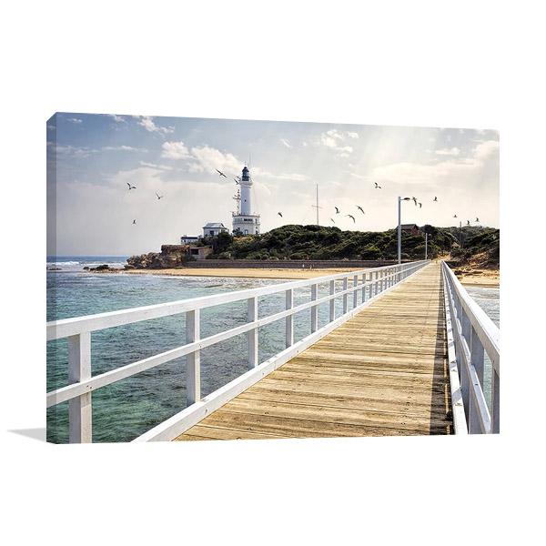 Point Lonsdale Lighthouse Australia Print