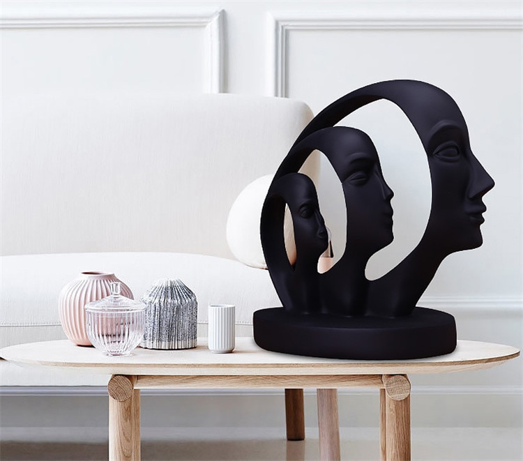 Poly Resin Abstract Sculpture Home Decor Brisbane