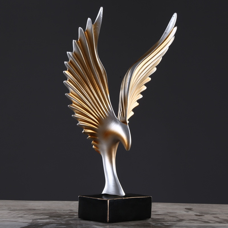 Online Abstract Wings Poly Resin Adelaide