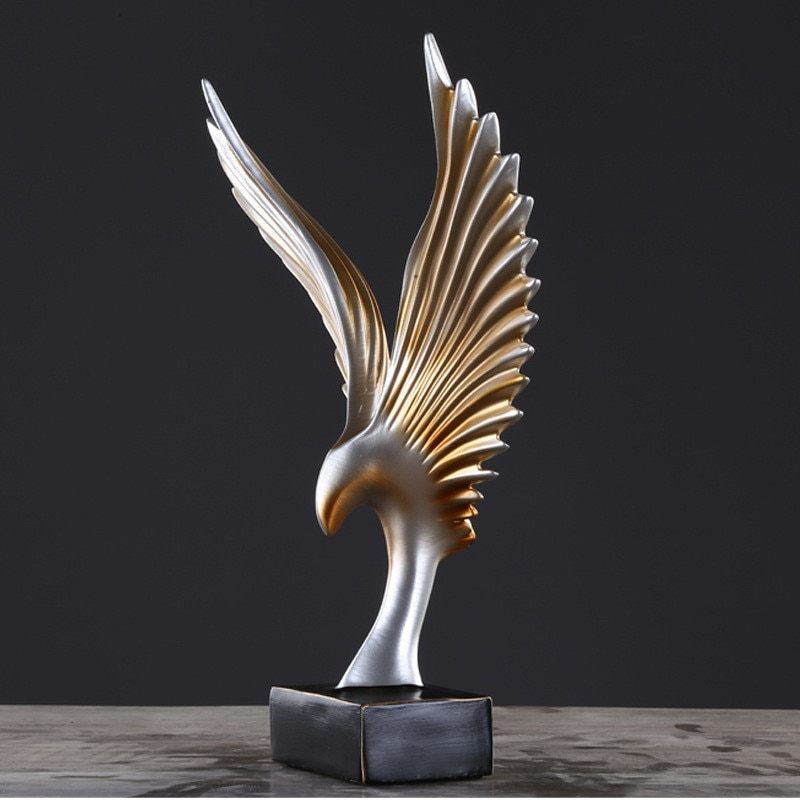 Poly Resin Abstract Wings Sculptures Adelaide