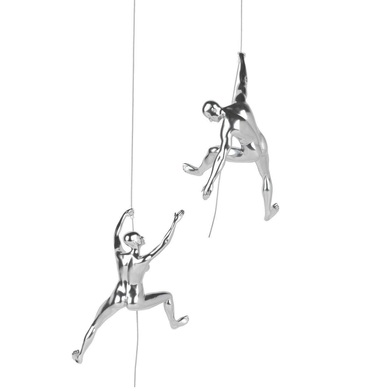 Poly Resin Climbing Couple C Steel