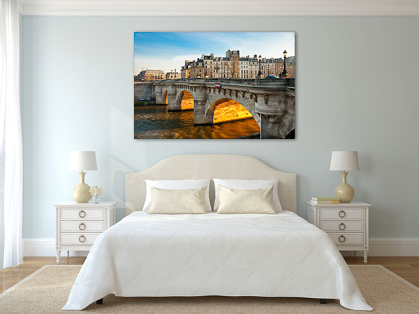 Pont Neuf, Ile de La Cite Paris Canvas Art