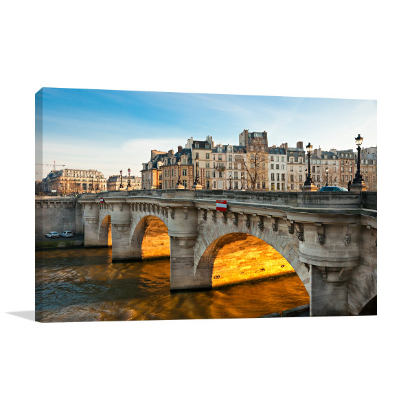 Pont Neuf, Ile de La Cite Paris Wall Art