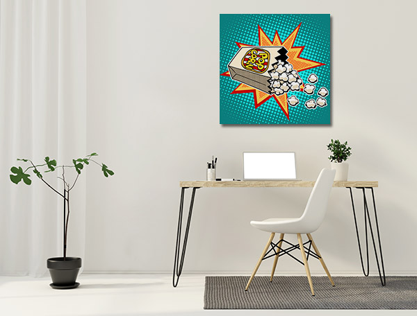 Popcorn Canvas Prints