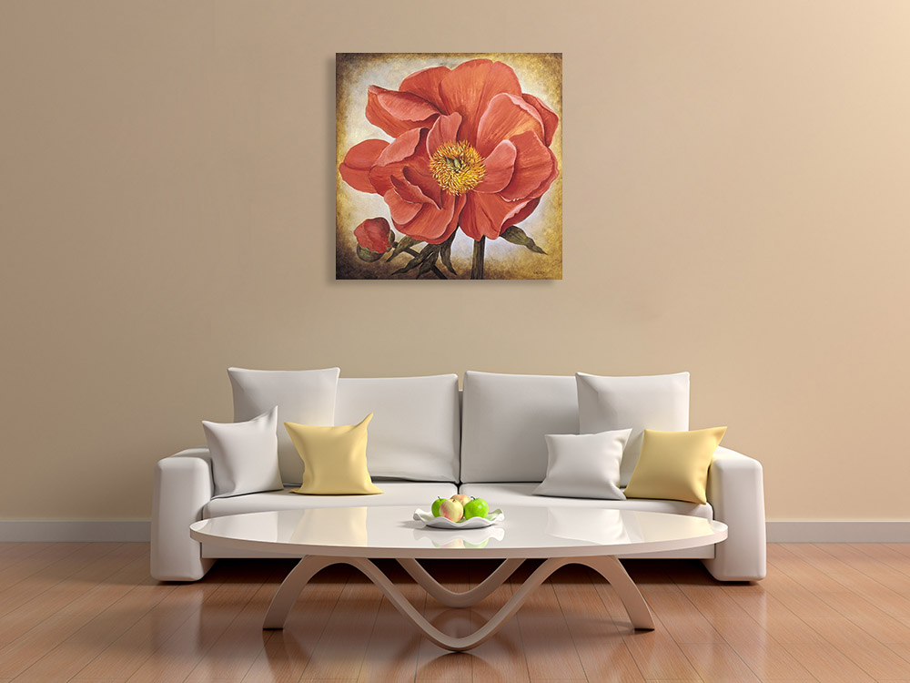 Floral Flower Wall Art Print