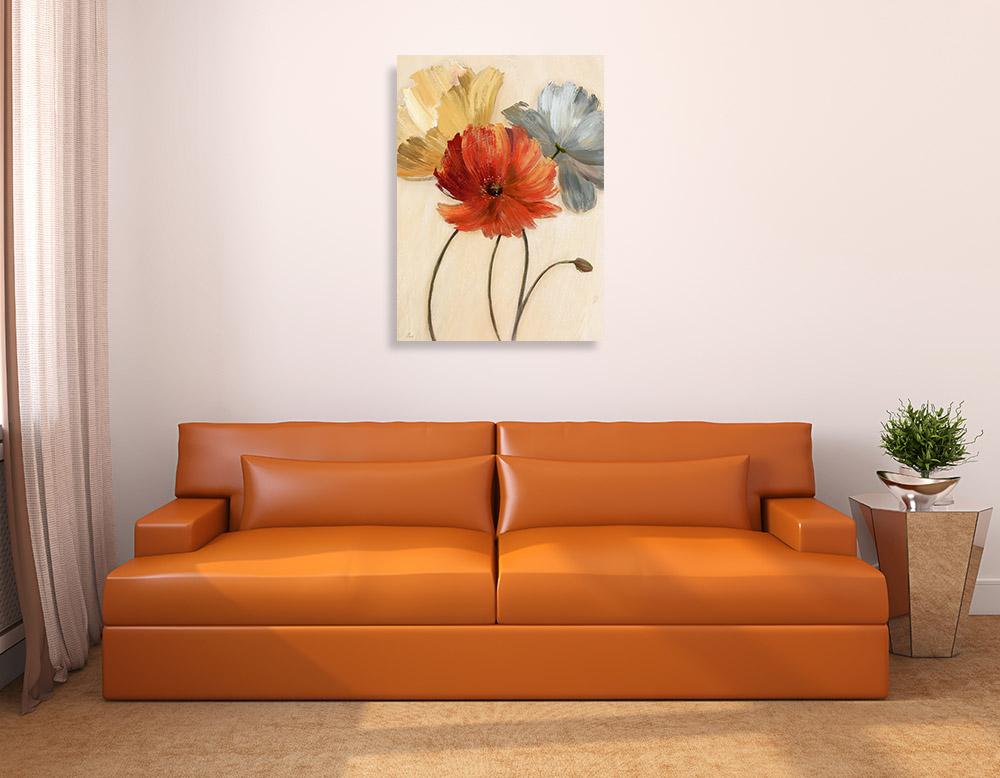 Botanical Flower Canvas Print