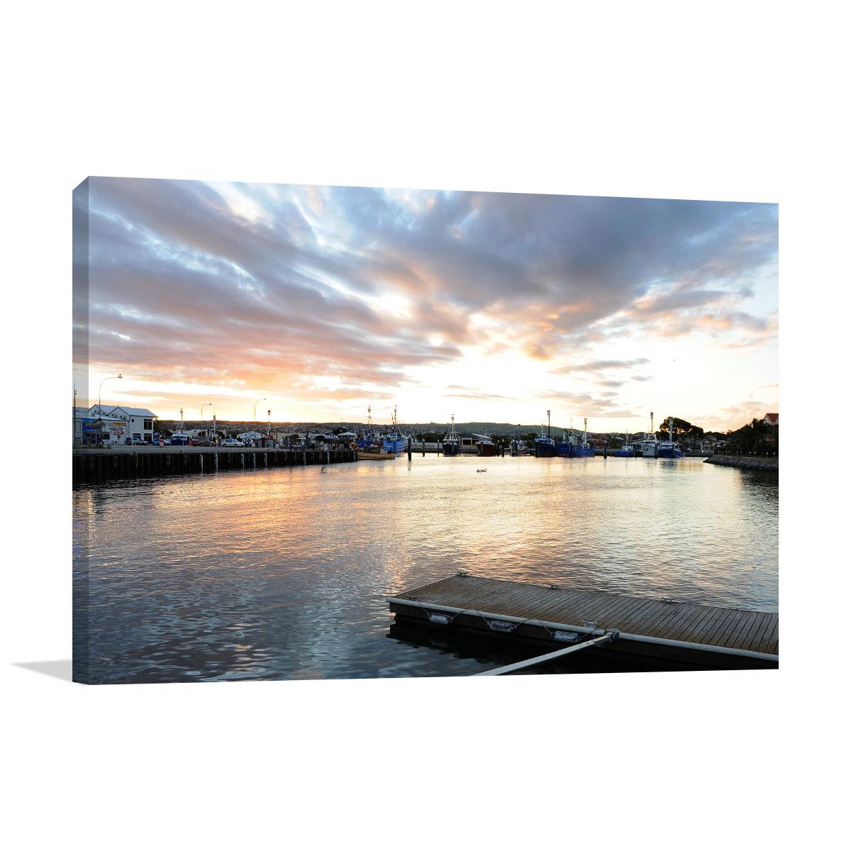Port Lincoln Art Print Marina Bay