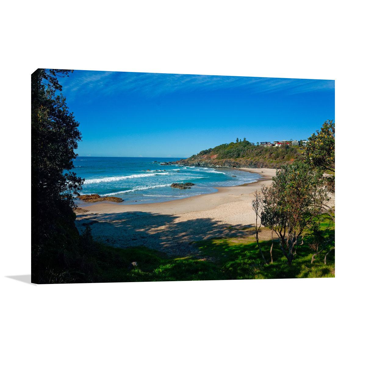 Port Macquarie Art Print Oxley Beach