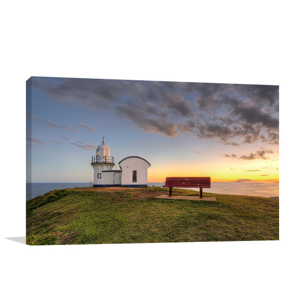 Port Macquarie Wall Art Print Lighthouse Sunrise Artwork Picture