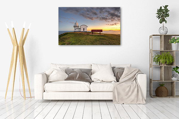 Port Macquarie Wall Art Print Lighthouse Sunrise Photo Artwork