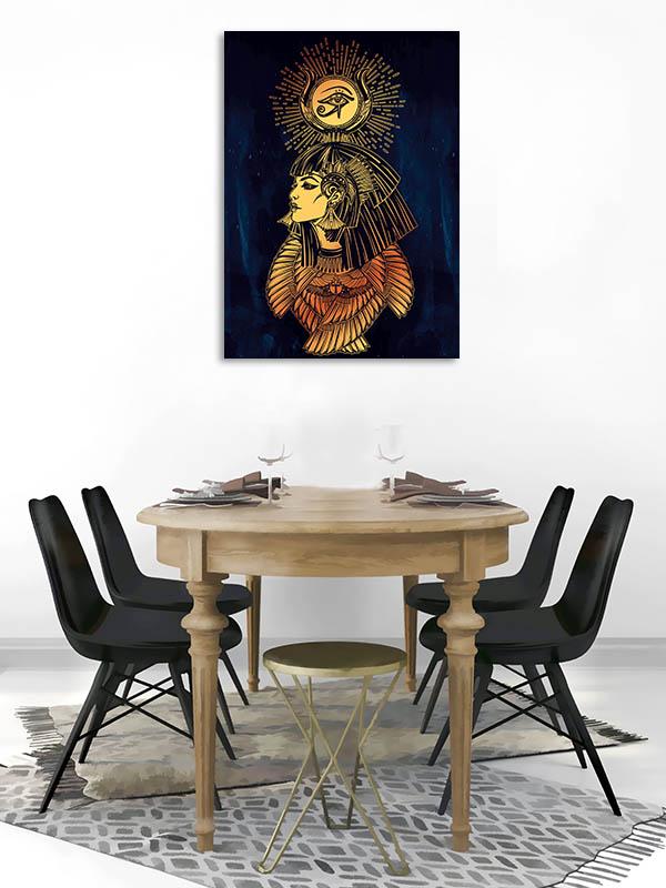 Portrait of Goddess Canvas Art